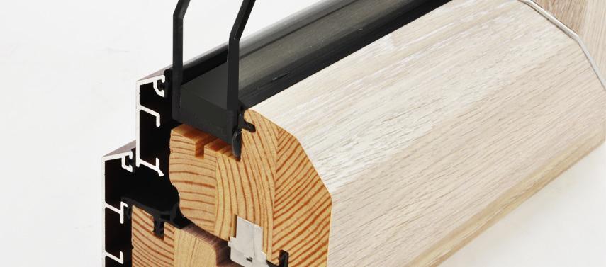 Ventanas aluminio-madera